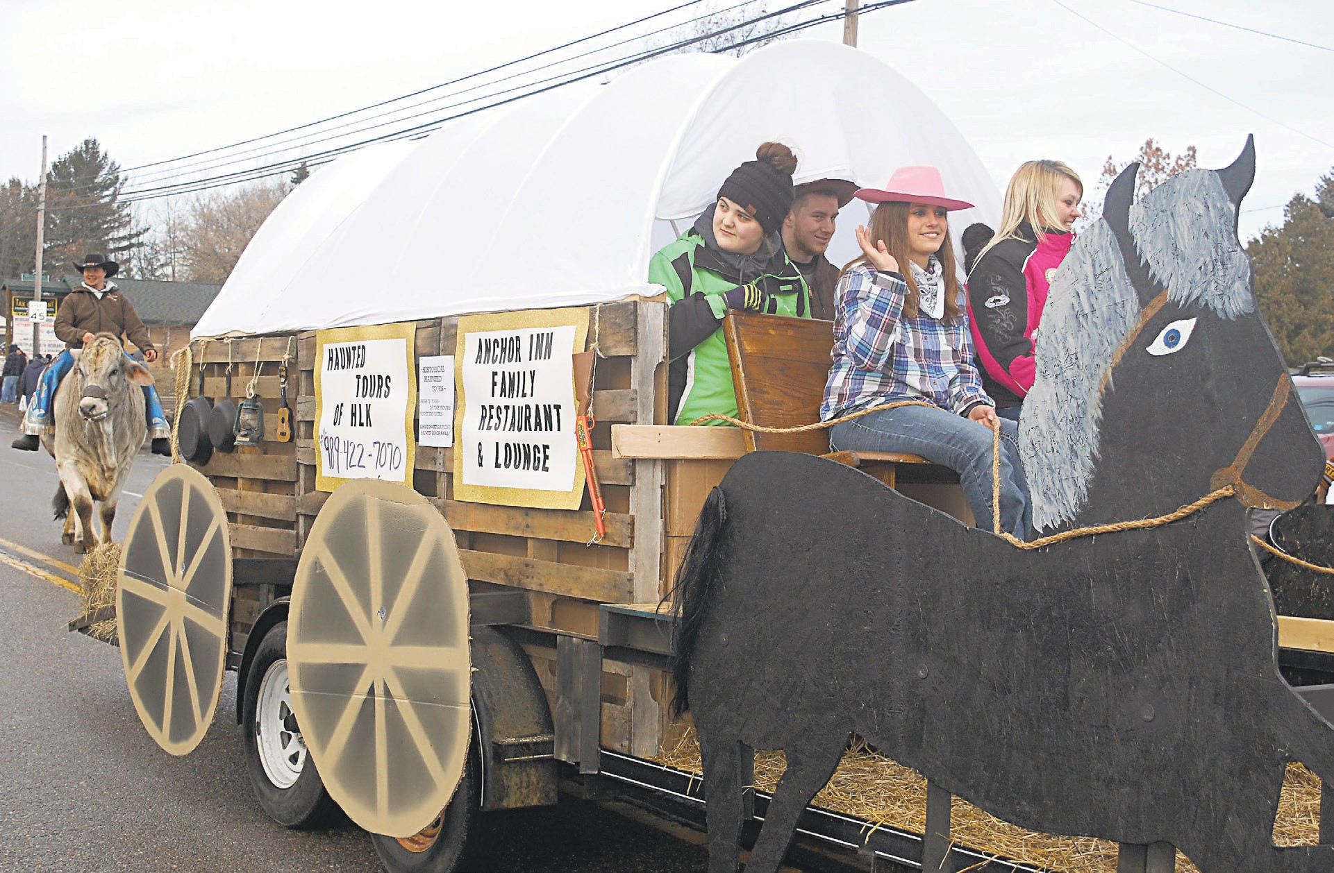 Families Enjoy Fun At First Tip Up Town Weekend Houghton Lake Resorter