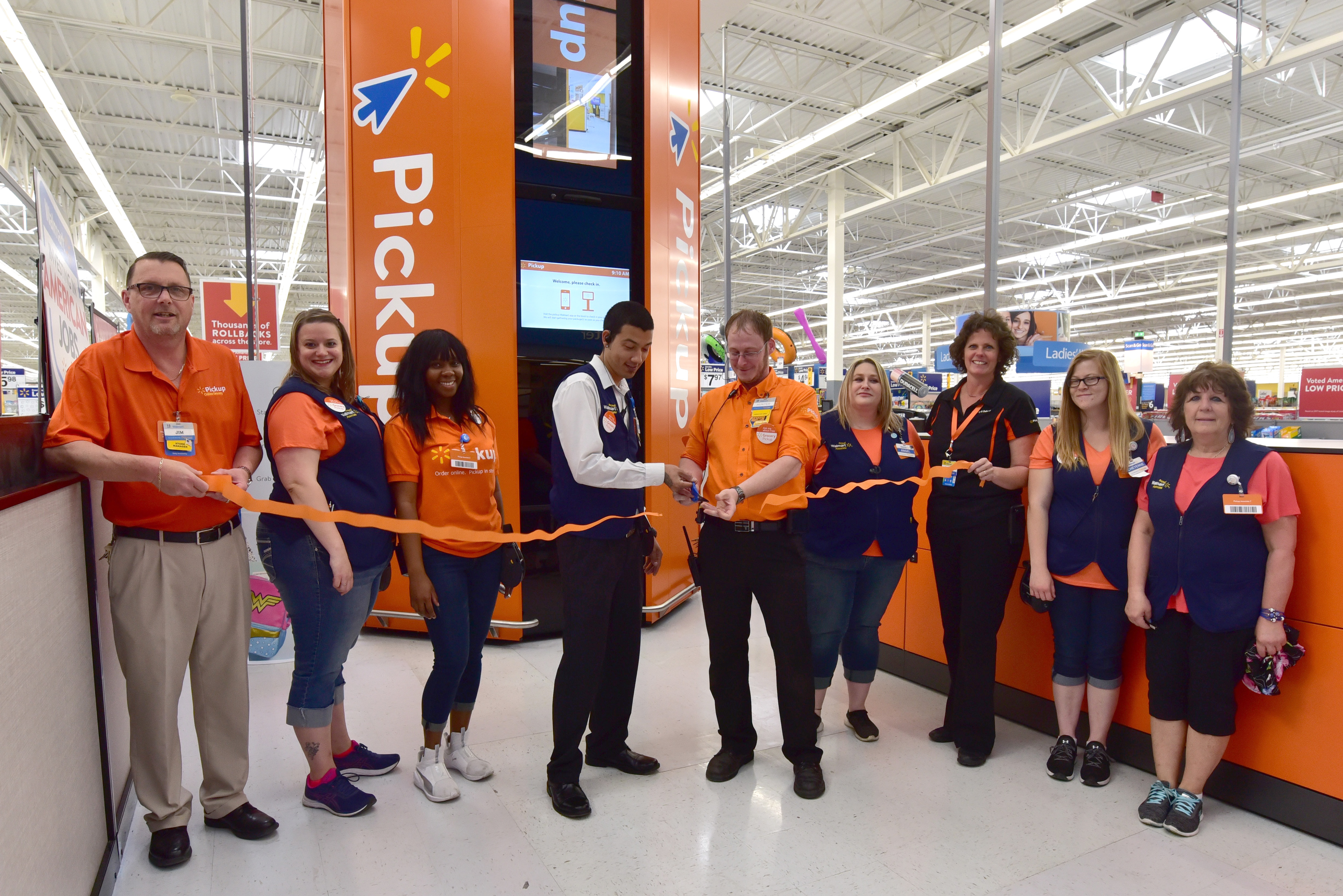 Walmart launches Online Grocery Pickup, Tower innovations at